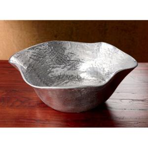 India Handicrafts   Aluminum Free Form Bowl $87.95