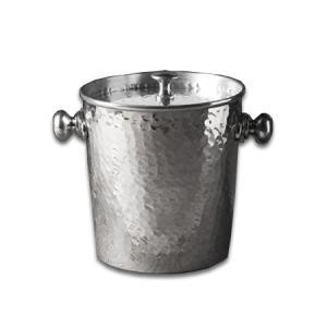India Handicrafts   Hammered Ice Bucket With Lid $37.95