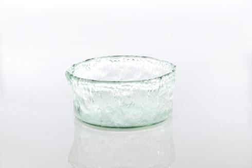 $30.00 Rustic Glass Small Round Bowl