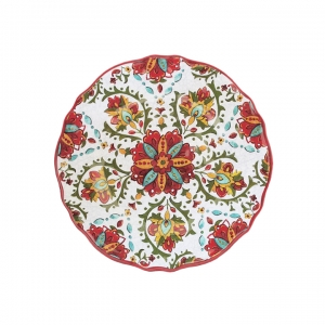 Salad Plate, Allegra Red collection with 1 products