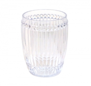 Le Cadeaux   Milano Small Clear Tumbler Set of 6 $57.95