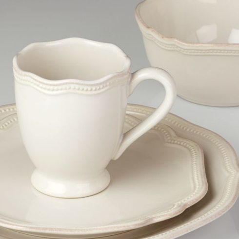 $59.95 4Piece French Perle Bead Place Setting