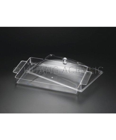 Huang Acrylic   Serving Tray With Lid $49.50