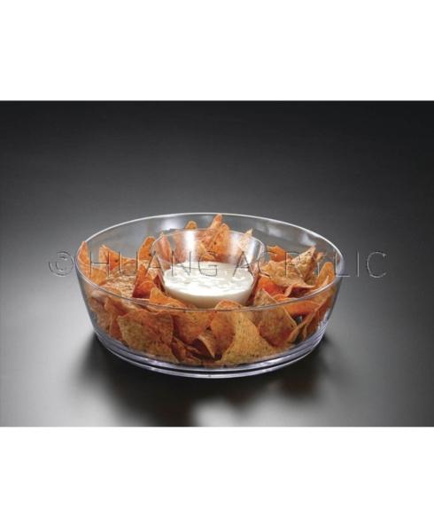 Huang Acrylic   Chip & Dip Bowl $23.95