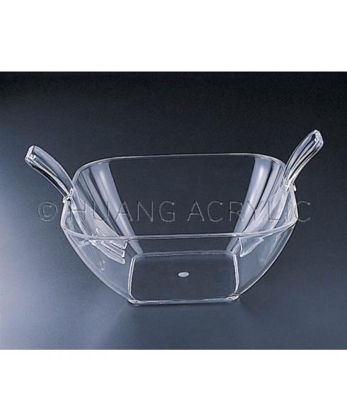 Huang Acrylic   Large Square Salad Bowl $27.95