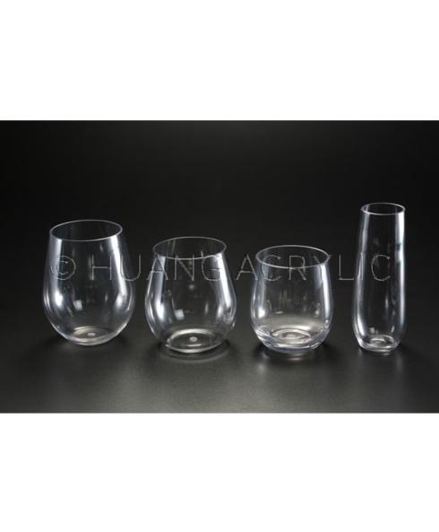 $8.95 24-OZ TRITAN STEMLESS LARGE WINE GLASS (DISHWASHER SAFE)