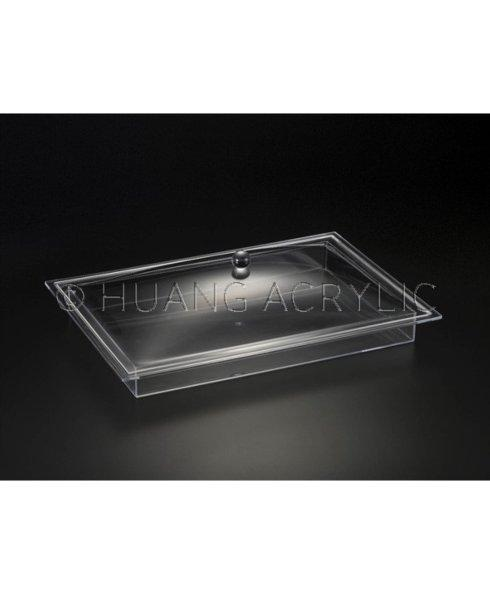 Huang Acrylic   Covered Tray $75.00
