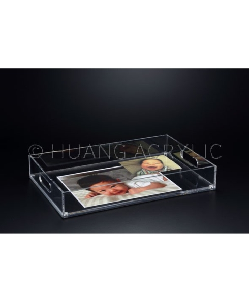 Huang Acrylic   Rectangular Insertable Tray $87.95