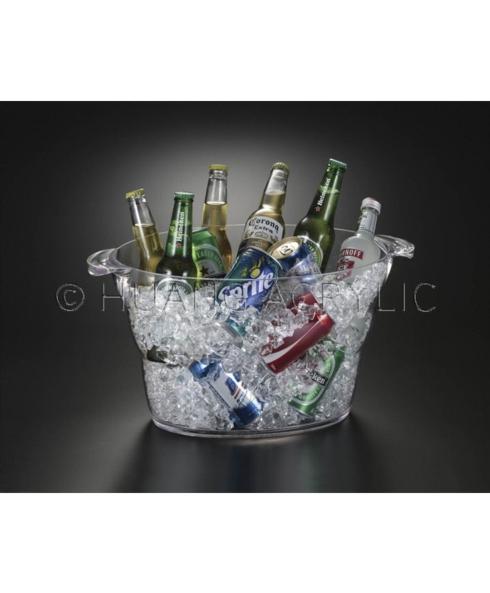 Huang Acrylic   Oval Beverage Tub $42.95