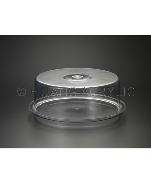 Huang Acrylic   Cake Plate with Lid $41.95