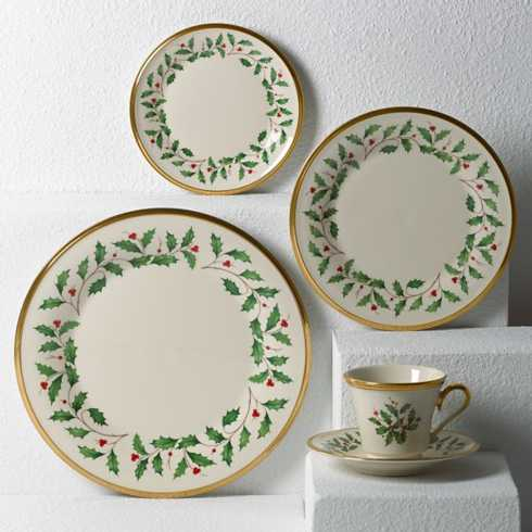 $119.95 Holiday 5Pc Place Setting