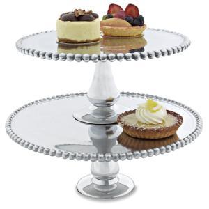 $62.95 Beaded Cake Plate