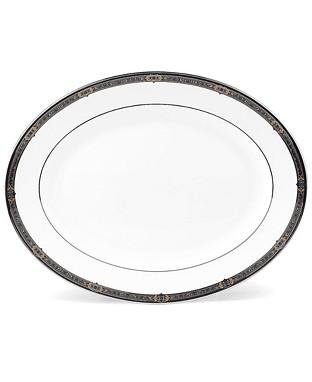 $209.95 Vintage Jewel Medium Oval Platter