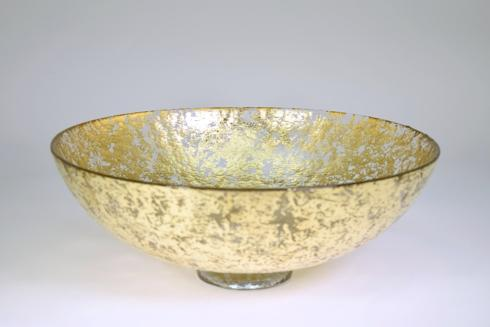 "Tamara Childs  Bowls 15"" Wabi Sabi bubble glass bowl $211.00"