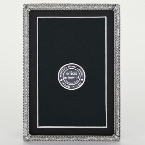 $84.00 Herringbone 4X6 Pewter