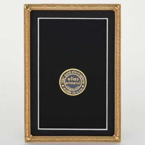 $108.00 Herringbone 4X6 Gold