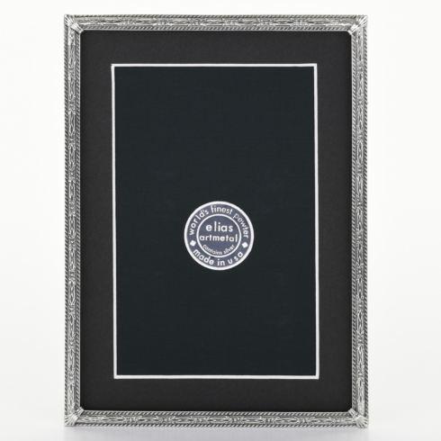 $99.00 Herringbone 5X7 Pewter