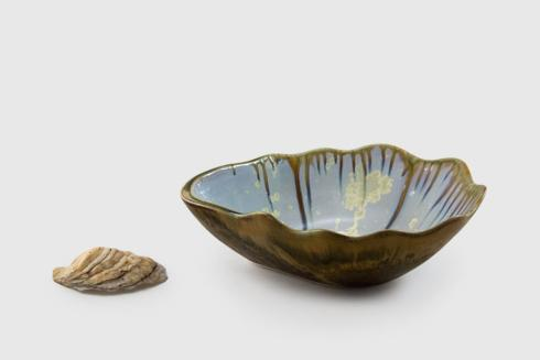 Alison Evans  oyster series Medium Nesting Bowl $125.00