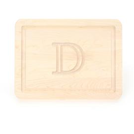 BigWood Boards   9x12  cutting  board w/ monogram $45.00
