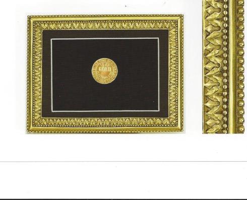 Elias Artmetal   Beaded Acanthus frame 5 x 7 $125.00