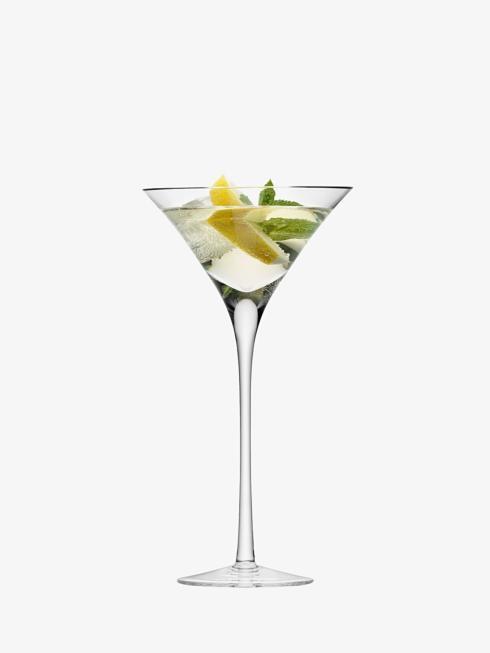 LSA International   Set of 2 Clear 9oz Martini Glasses $53.00