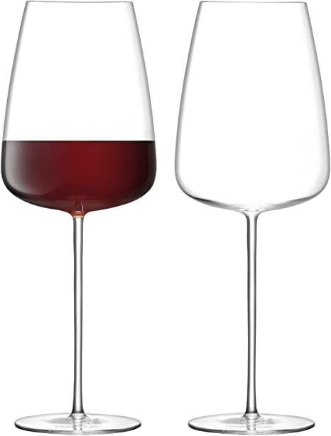 LSA International   Clear Grand Wine Glass, set of 2 $100.00
