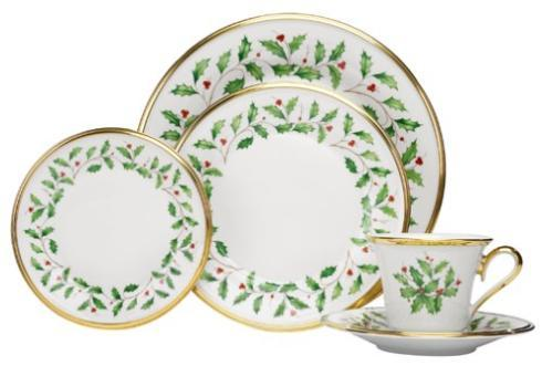 Lenox  Holiday 5 piece place setting $119.95