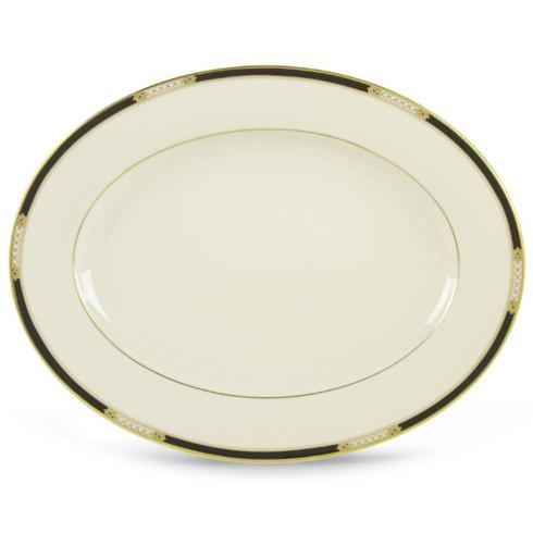 Lenox  Hancock/Presidential (Gold) Oval Platter $171.50