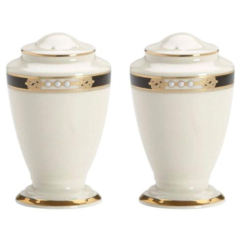 Lenox  Hancock/Presidential (Gold) Salt & Pepper Shakers $84.95