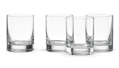 Lenox  Tuscany Barware Cylinder DOF Set of 4 $40.00