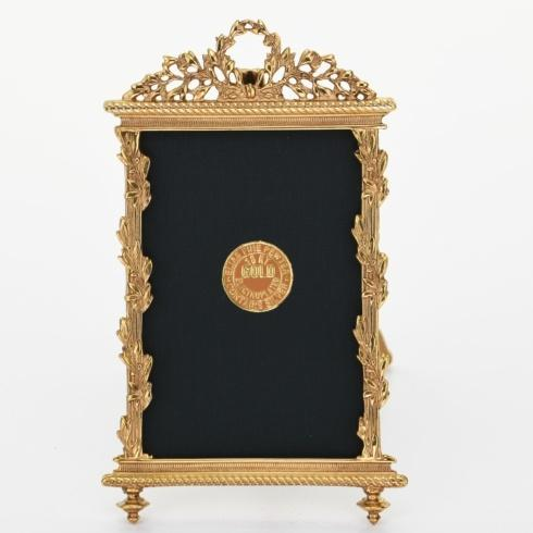 $90.00 Louis XIII Rectangle Gold