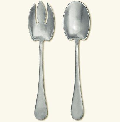 Match  serving pieces Aria Salad Servers $239.00