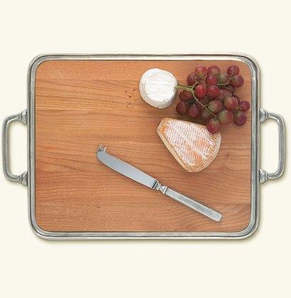 $440.00 cheese tray with handles medium