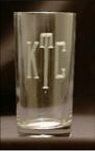 Stephens Glassware   Square Hiball Set/4 $65.00