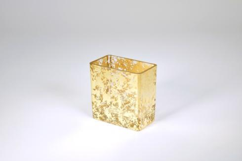 Tamara Childs  Vases Four Inch WabiSabi Gold $34.00