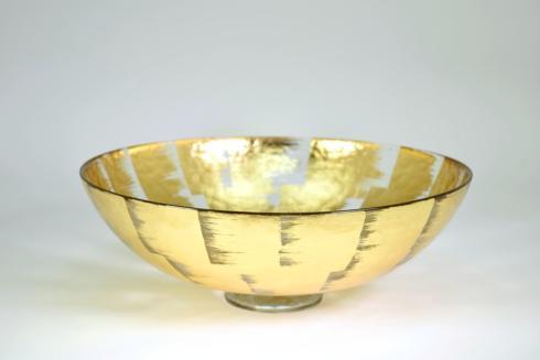 "Tamara Childs  Bowls 15""Slash Bubble Glass Bowl $211.00"