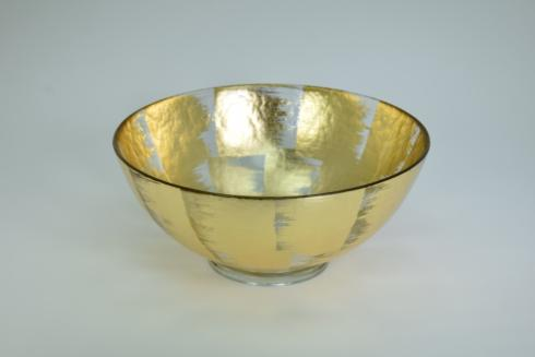 Tamara Childs  Bowls 10x4 footed bubble glass bowl $125.00
