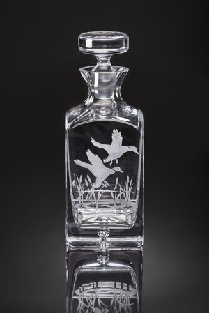 Julie Wear Designs   Decanter Ducks in Flight $279.00