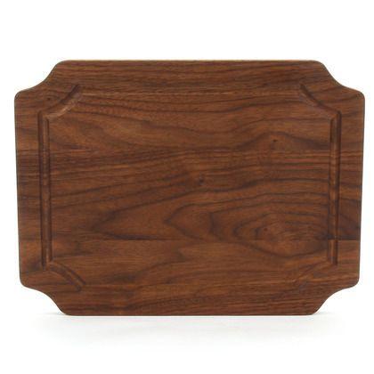 BigWood Boards  Selwood 9x12 scalloped walnut $60.00