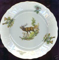 William Hite  Wildlife Salad Plate $34.00