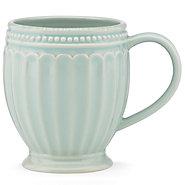 Lenox  French Perle Grove Ice Blue mug $15.00