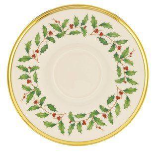 Lenox  Holiday Saucer $14.95