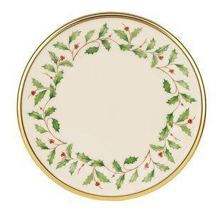 Lenox  Holiday Bread and Butter Plate $16.95