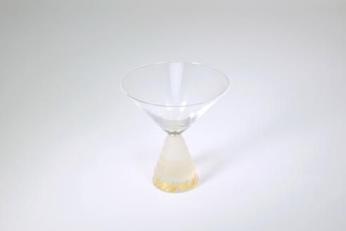 Tamara Childs  Stemware  Zig Zag Stemmed Martini/Dessert $35.00