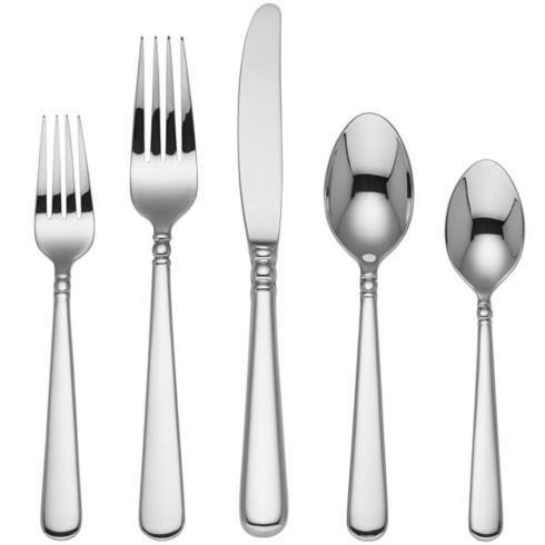 $59.95 Pearl Platinum 5-pc place setting