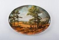 Zundel's Exclusives  The Brett Smith Sporting Art Collection Quail Country- Oval Platter $158.00