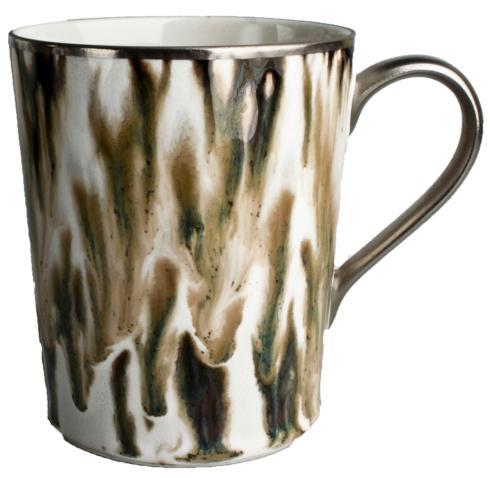 Cream Scale Platinum Mug