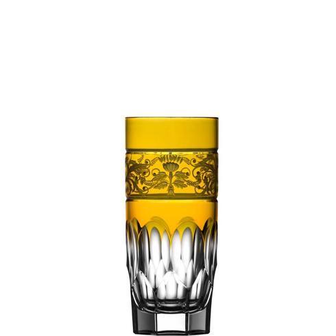 Amber Highball Glass