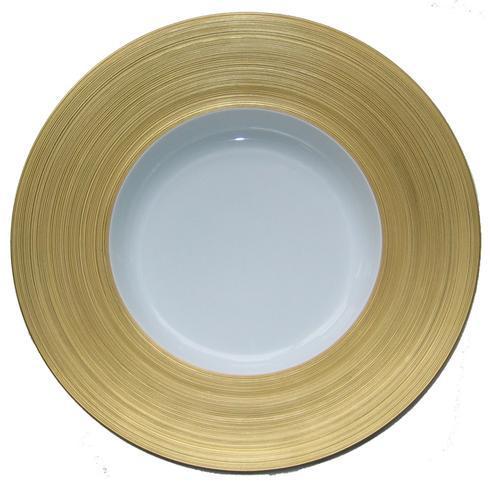 Hollow Round Dish with Rim