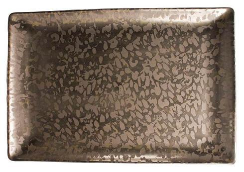 Big Bang Bronze Rectangular Tray 10.6
